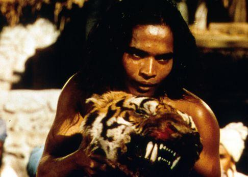 Das Dschungelbuch - Als kleiner Junge flieht Nathoo  in den Dschungel, wo er...