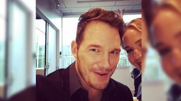 """Passengers""-Star Jennifer Lawrence: Fies von Kollege Chris Pratt r..."
