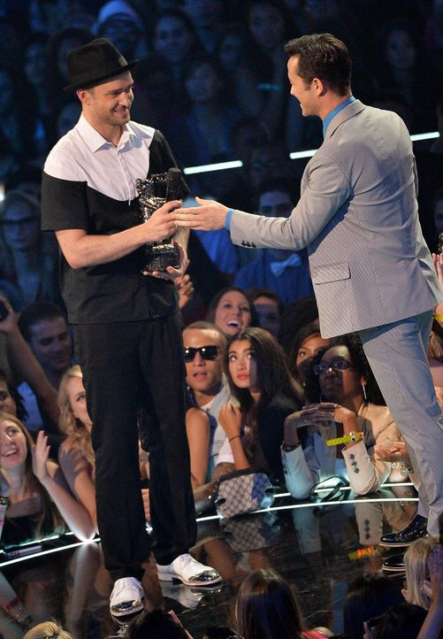 MTV-Music-Video-Awards-Justin-Timberlake-Joseph-Gordon-Levitt-130825-1-getty-AFP.jpg 1389 x 2000 - Bildquelle: getty-AFP