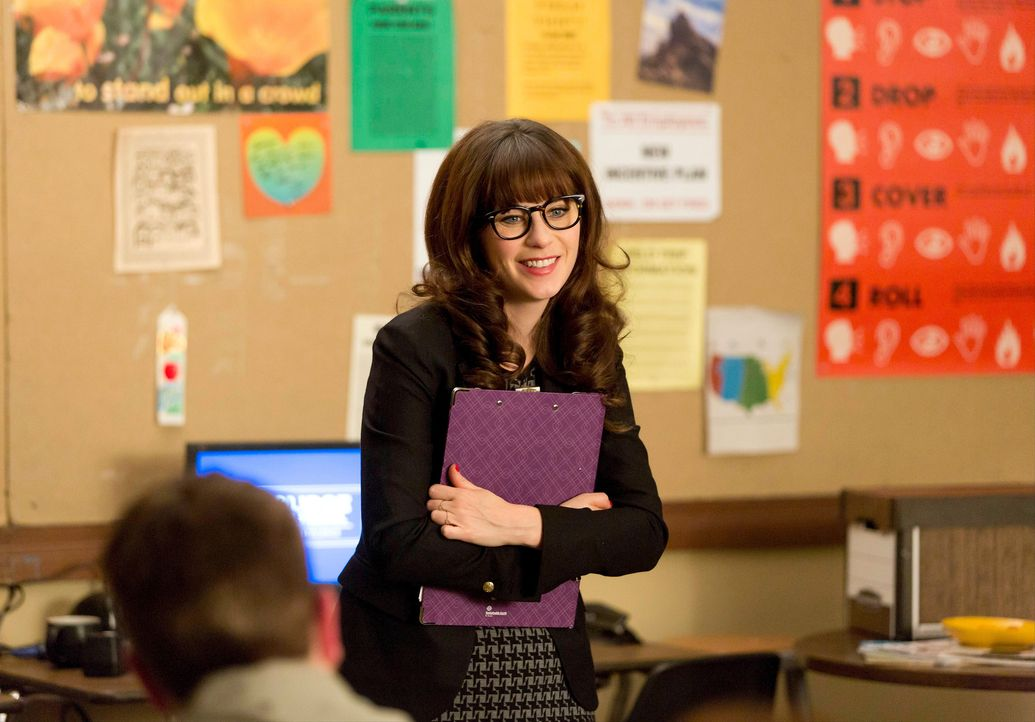Als stellvertretende Schulleiterin muss Jess (Zooey Deschanel) alle Lehrer und Lehrerinnen gleich behandeln, doch das ist alles andere als einfach f... - Bildquelle: 2015 Twentieth Century Fox Film Corporation. All rights reserved.