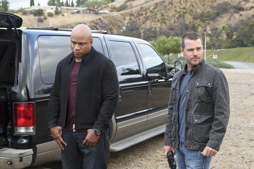 Navy CIS: L.A. - Ein neuer Fall wartet auf Callen (Chris O'Donnell, r.) und S...