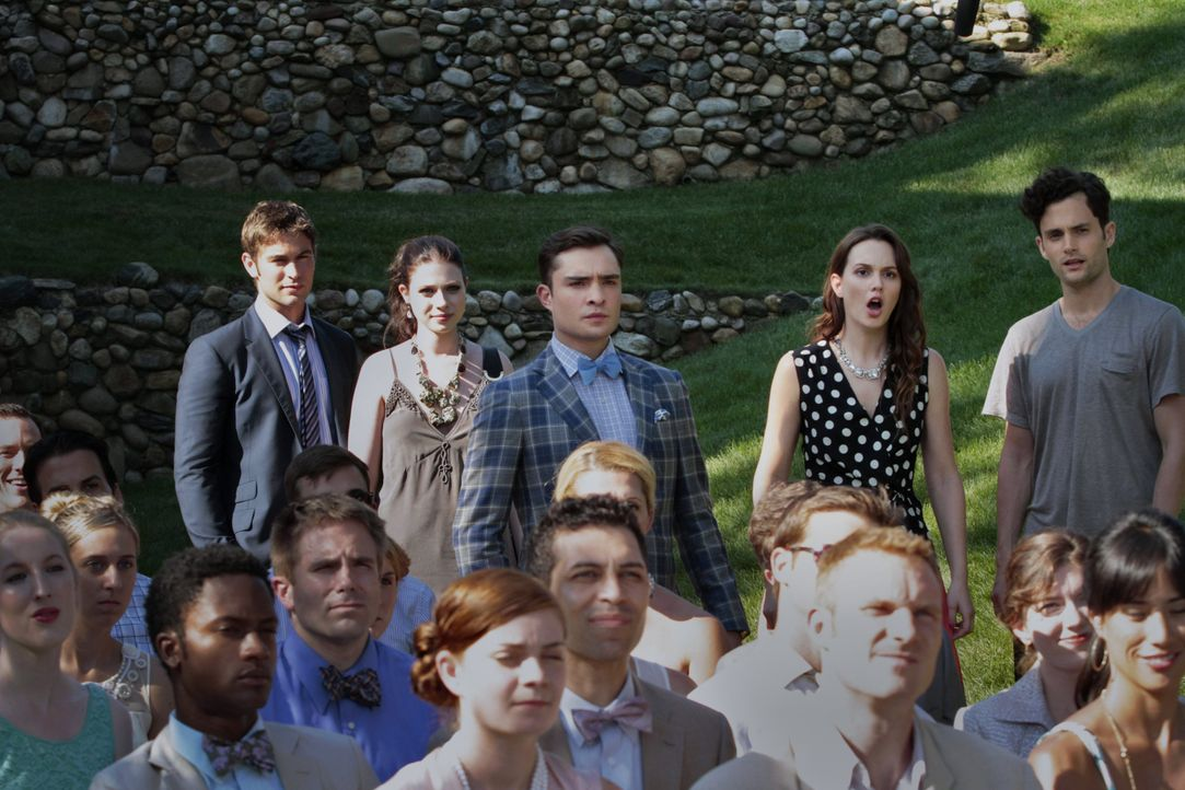 Blair, Dan, Chuck und Georgina in Staffel 6 Gossip Girl - Bildquelle: Warner Bros. Television