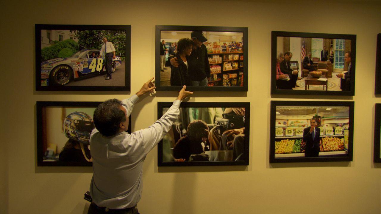 Der Bildjournalist Pete Souza wurde Anfang Januar 2009 als Fotograf des Weißen Hauses bestellt. Er war schon einmal Fotograf des Weißen Hauses: vo... - Bildquelle: Erin Harvey National Geographic Television International