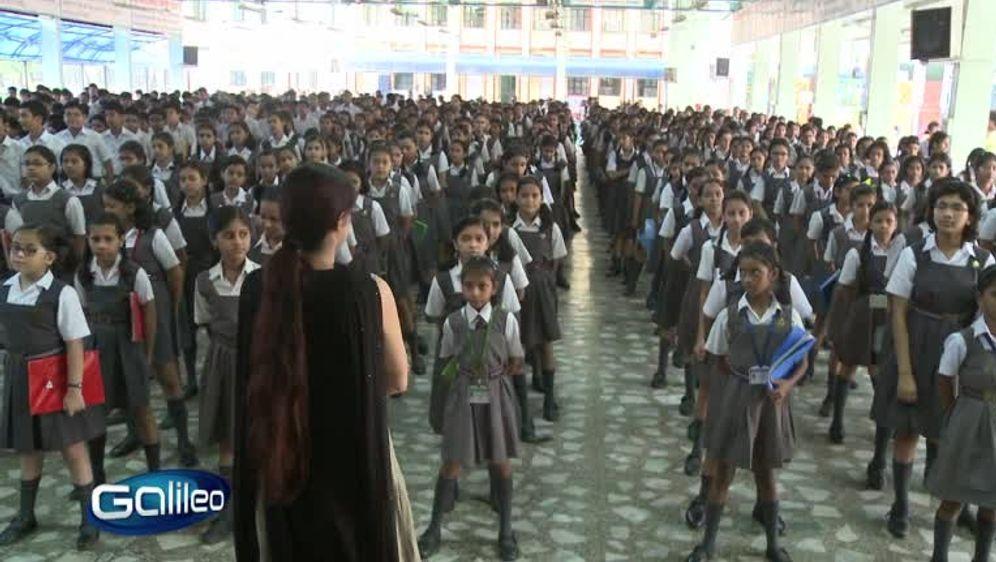 XXL Schule - die größte Schule der Welt