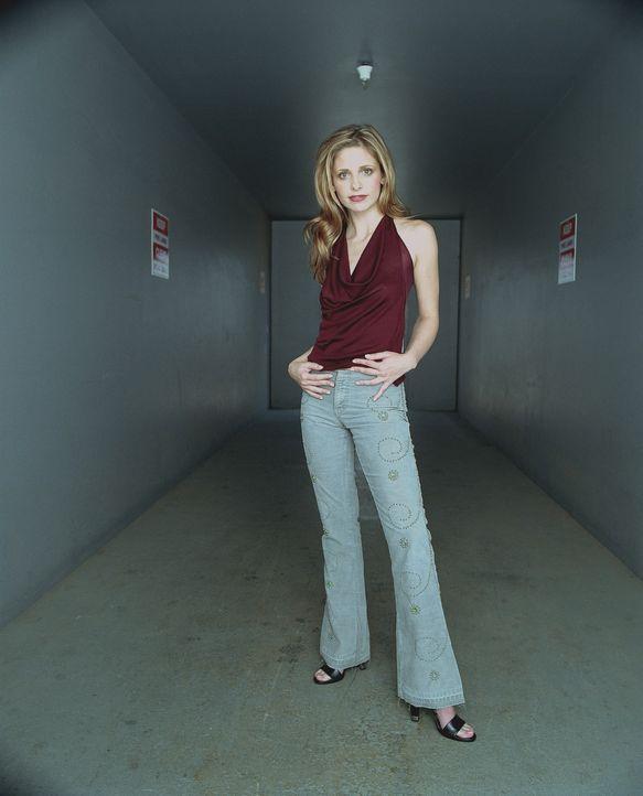 (6. Staffel) - Sie ist die Jägerin. Sie ist außergewöhnlich stark, ihre Sinne besonders scharf und sie hat manchmal prophetische Träume: Buffy (Sara... - Bildquelle: TM +   Twentieth Century Fox Film Corporation. All Rights Reserved.