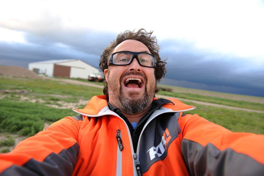 Immer wieder hoffen Chris, Greg (Bild) und Ricky darauf, den perfekten Wirbelsturm zu finden, aber nicht jeder vielversprechende Sturm entwickelt si...