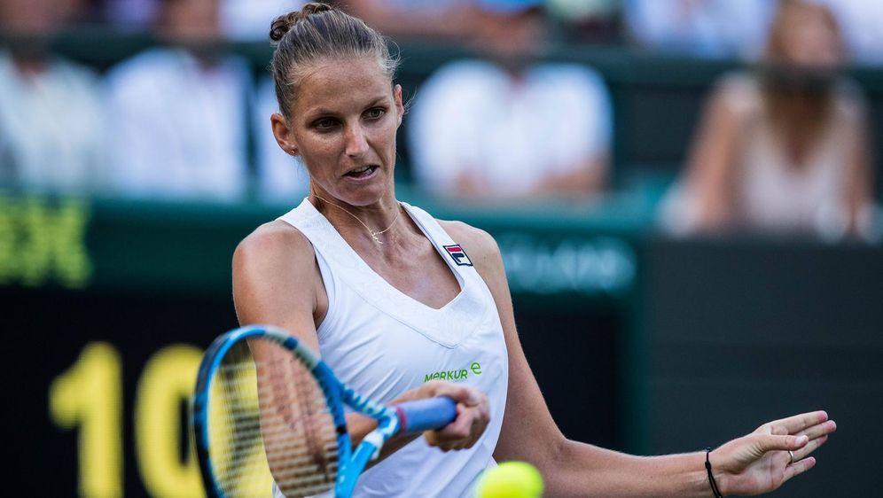 Karolina Pliskova scheidet im Achtelfinale aus - Bildquelle: imago