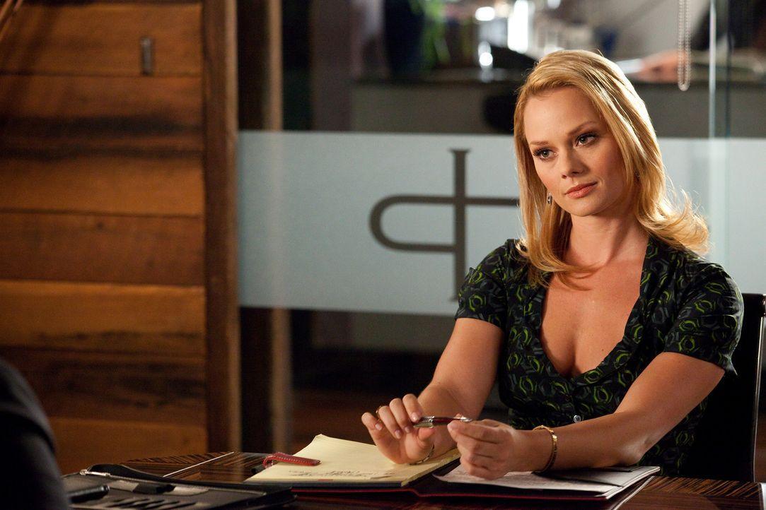Während Grayson die nächste Hürde in der Beziehung zu Vanessa nimmt, arbeitet Kim (Kate Levering) gemeinsam mit Parker an einem neuen Fall ... - Bildquelle: 2009 Sony Pictures Television Inc. All Rights Reserved.
