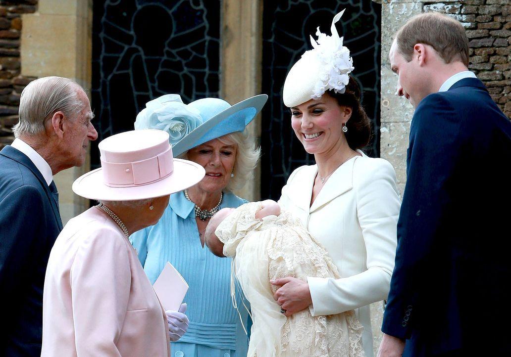 Taufe-Prinzessin-Charlotte-15-07-05-16-AFP - Bildquelle: AFP
