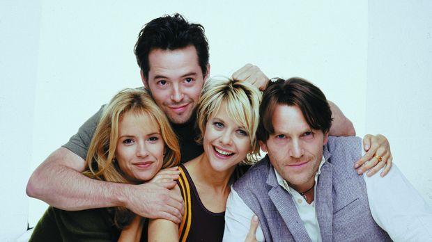 Haben Liebesstreß: (v.l.n.r.) Linda (Kelly Preston), Sam (Matthew Broderick),...