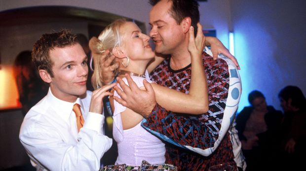v.l.n.r.: Ralf Schmitz, Mirja Boes und Markus Majowski © Stephen Power Sat.1