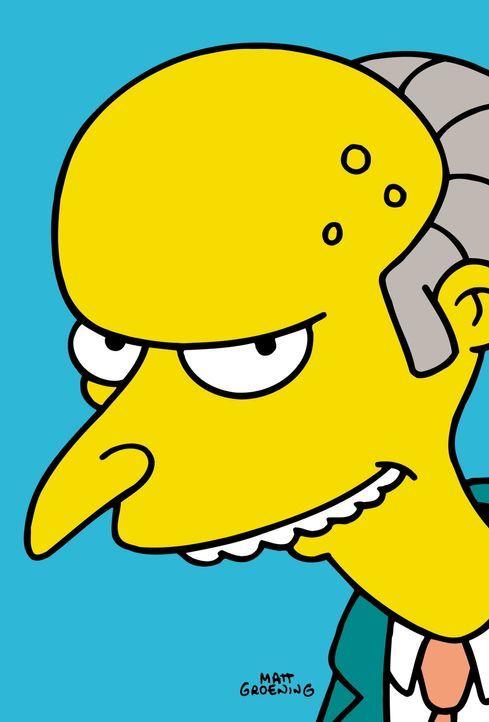 (12. Staffel) - Der Atomkraftwerkbesitzer Mr. Burns beutet zu gerne seine Mitmenschen aus. - Bildquelle: und TM Twentieth Century Fox Film Corporation - Alle Rechte vorbehalten