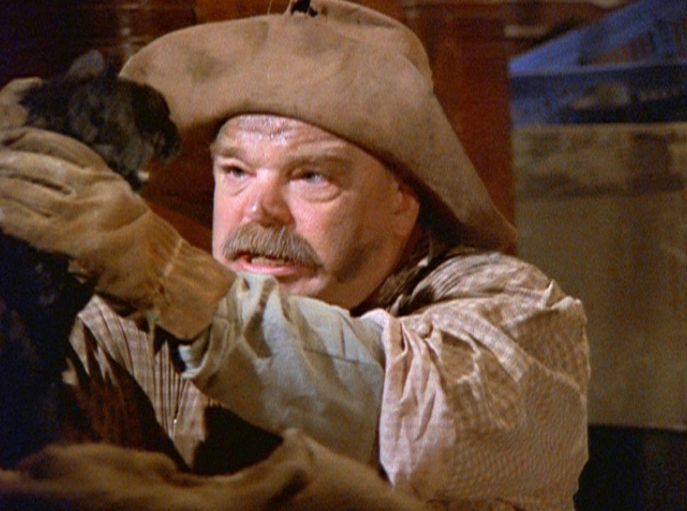 Salem hofft, mit dem Goldgräber Jedediah (Richard Riehle) mehr vom Zauberstaub zu finden. - Bildquelle: Paramount Pictures