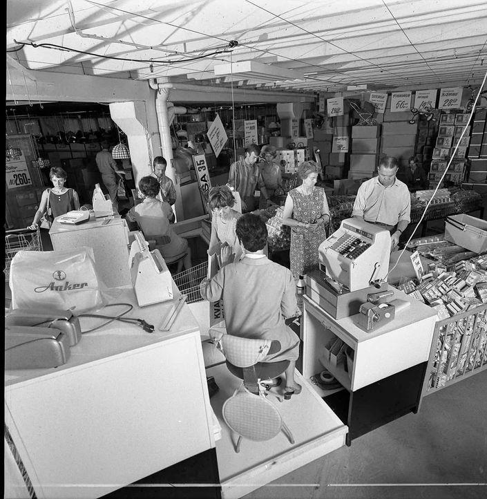 IKEA Kassenzone 1973