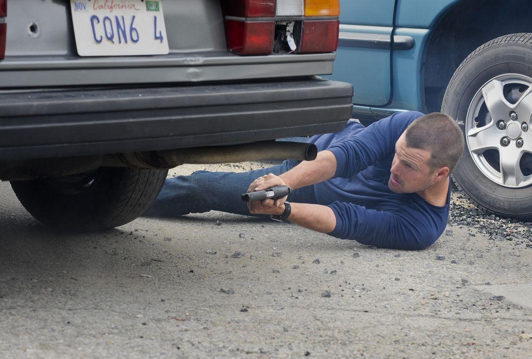 Ermittelt Undercover im sonnigen Los Angeles, um die nationale Sicherheit zu wahren: Special Agent G. Callen (Chris O'Donnell) ... - Bildquelle: CBS Studios Inc. All Rights Reserved.