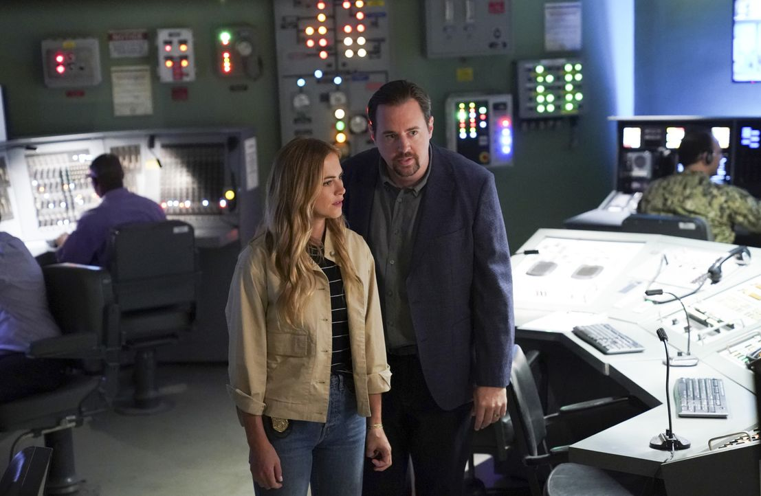Ellie Bishop (Emily Wickersham, l.); Timothy McGee (Sean Murray, r.) - Bildquelle: Sonja Flemming 2018 CBS Broadcasting, Inc. All Rights Reserved/Sonja Flemming