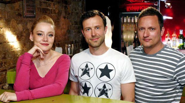 v.l.n.r: Agnieszka Guzikowska, Lars Pape, Philipp Langenegger sind drei charm...