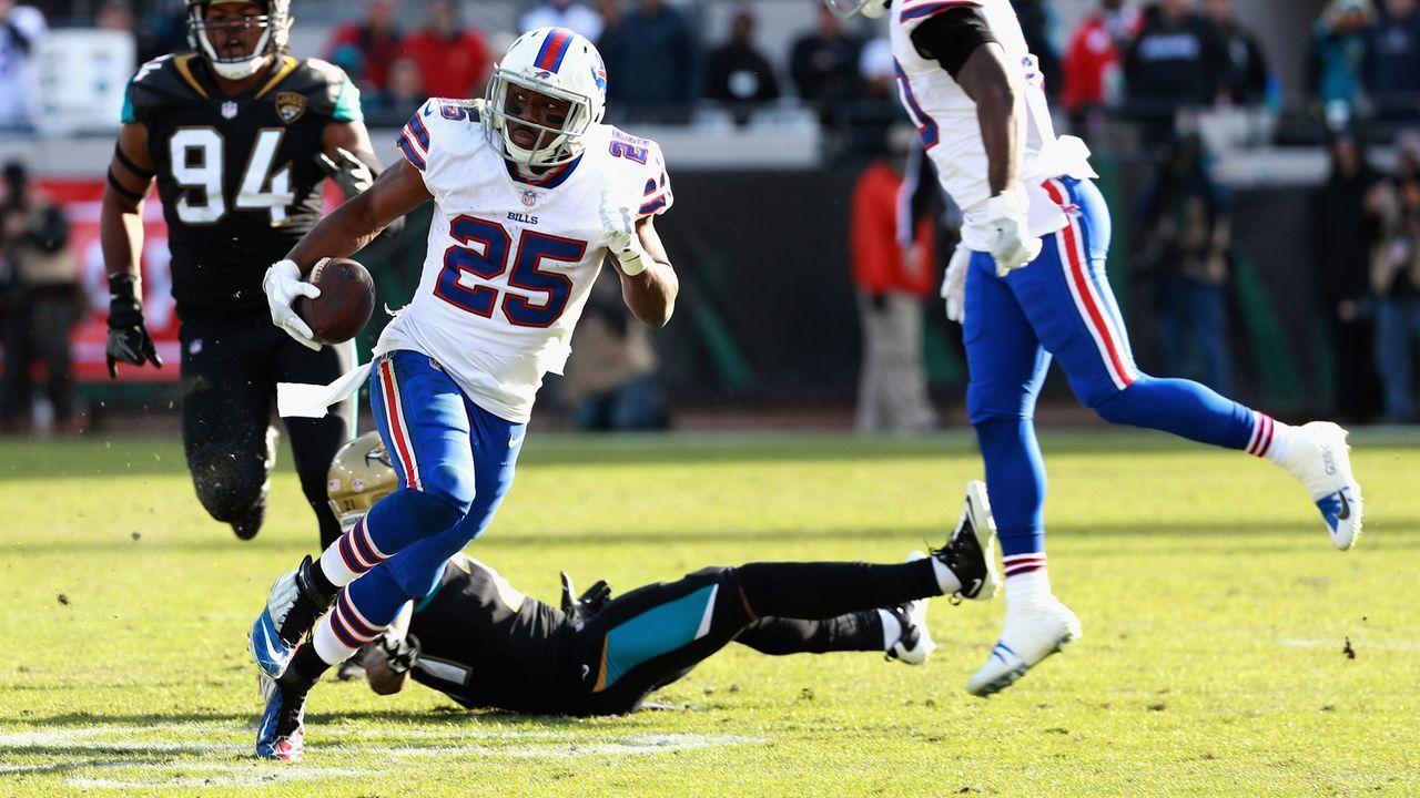 Buffalo Bills (2017: 9 Siege, 7 Niederlagen; Aus in den Wild Card Playoffs) - Bildquelle: 2018 Getty Images