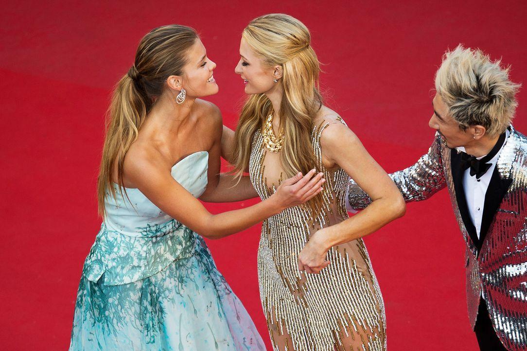 Cannes-Film-Festival-Paris-Hilton-Nina-Agdal-150518-AFP - Bildquelle: AFP