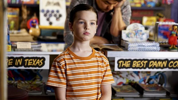 Young Sheldon - Young Sheldon - Staffel 1 Episode 4: Würstchen, Comics Und Ein Therapeut