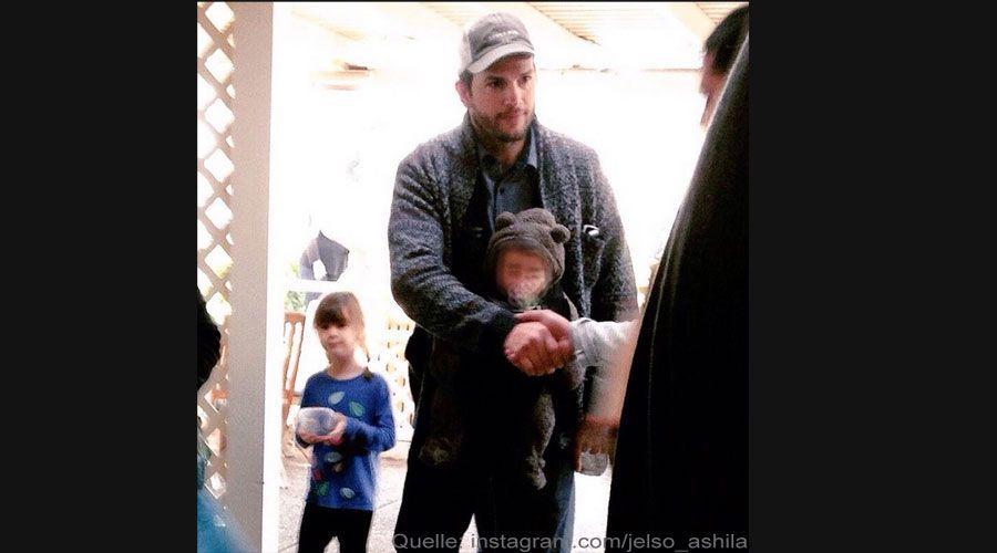 Ashton Kutcher Baby bearbeitet - Bildquelle: instagram.com/jelso_ashila