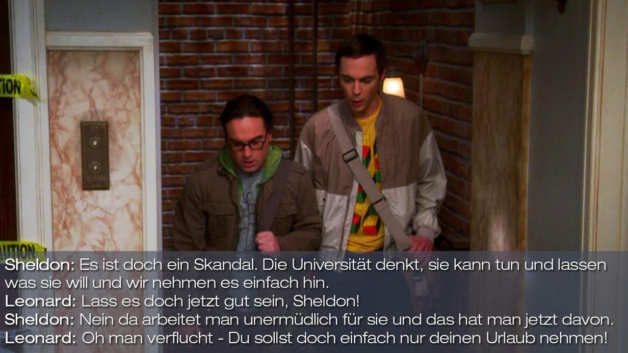 Staffel 7 Folge 13 - Zitat 1 - Bildquelle: Warner Bros. Television