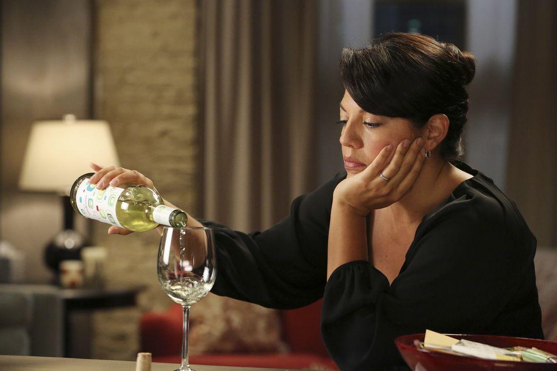 Zukunftsängste bei Callie (Sara Ramirez). Wie wird die Verhandlung enden? - Bildquelle: ABC Studios