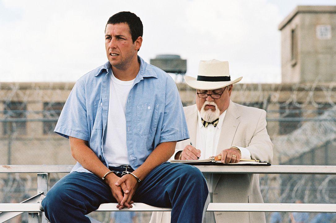 Eigentlich will Paul Crewe (Adam Sandler) im Knast seine Ruhe haben, aber es kommt anders: Der Gefängnisdirektor Warden Hazen, ein korrupter, schmi... - Bildquelle: Sony 2007 CPT Holdings, Inc.  All Rights Reserved.