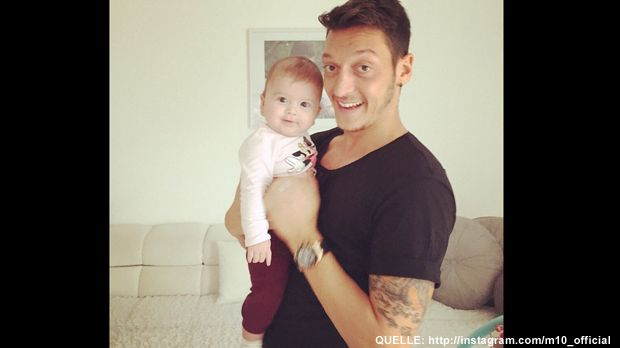 Mesut-Oezil-Instagram - Bildquelle: http://instagram.com/m10_official