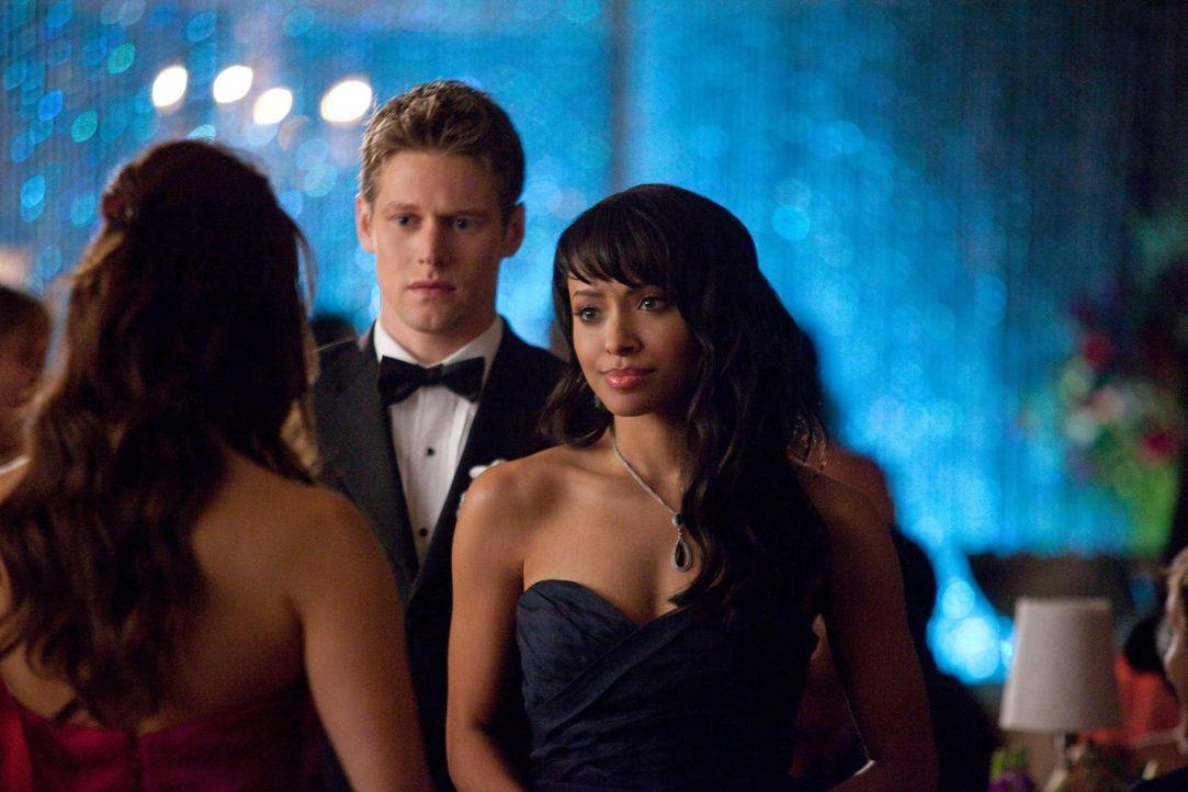 Bonnie (Kat Graham, r.) und Matt (Zach Roerig, M.) wissen nicht mehr, wie sie mit der gefühlskalten Elena (Nina Dobrev, l.) umgehen sollen ...