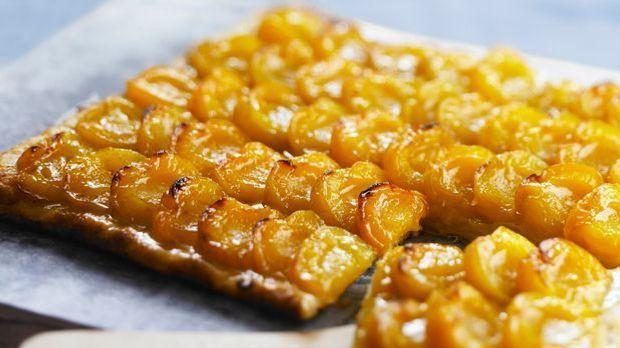 Köstlicher Mirabellen-Blechkuchen
