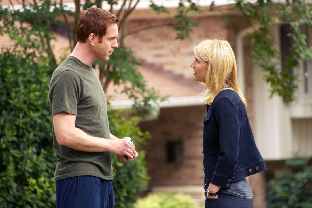 Wird Carrie (Claire Danes, r.) es schaffen, Brodys (Damian Lewis, l.) Vertrauen zurückzugewinnen? - Bildquelle: 20th Century Fox International Television