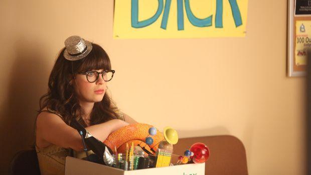 Jess (Zooey Deschanel) wird aus Einsparungsgründen von ihrer Schule gekündigt...