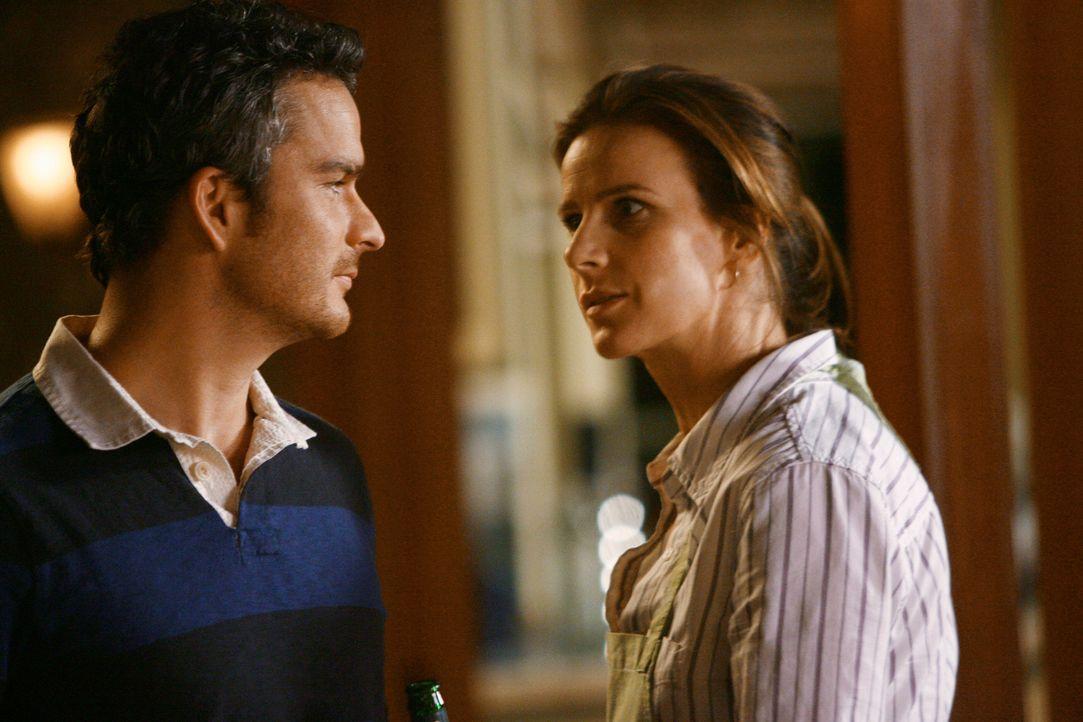 Erkärungsbedarf: Tommy (Balthazar Getty, l.) und Sarah (Rachel Griffiths, r.) wissen nichts von der Einladung an Paul ... - Bildquelle: 2008 ABC INC.