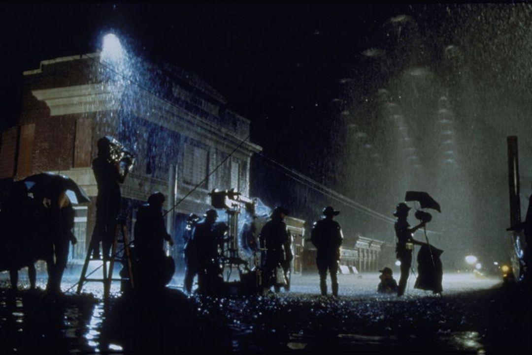 """Am Set von """"Flubber"""" - Bildquelle: Buena Vista"""