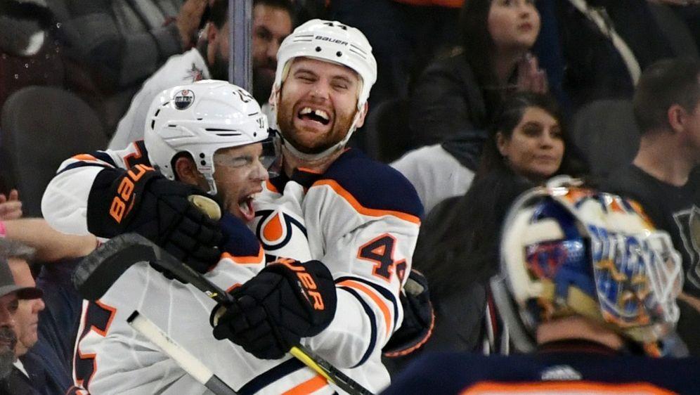 Draisaitls Oilers gewinnen überraschend in Las Vegas - Bildquelle: GETTY IMAGES NORTH AMERICAGETTY IMAGES NORTH AMERICASIDEthan Miller