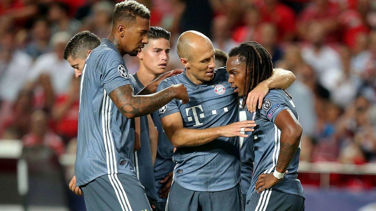 Champions League: Der FC Bayern bei Benfica Lissabon in der Einzelkritik
