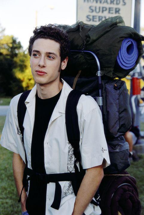 """Der intellektuelle Kiffer Rubin (Paulo Costanzo) lässt sich den """"Road Trip"""" nicht entgehen. Außerdem muss er Josh helfen, das anstehende Examen mit... - Bildquelle: TM &   DREAMWORKS L.L.C."""