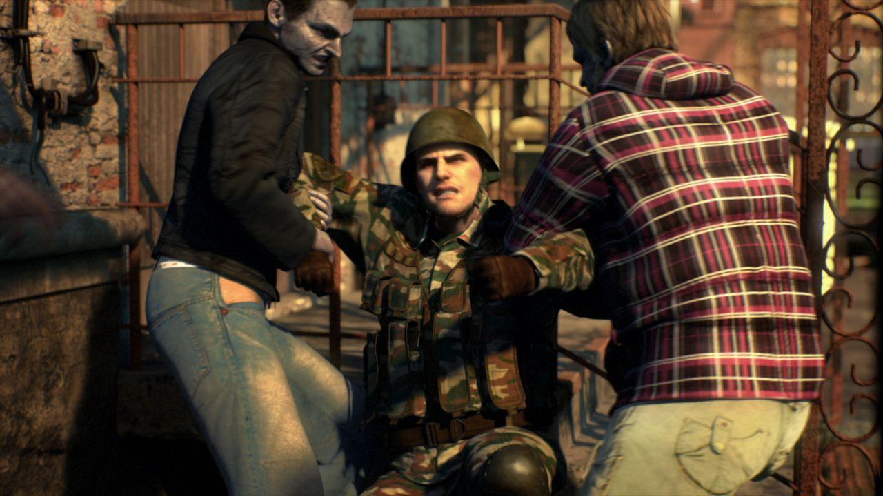 In der Ostslawischen Republik kommt es zum Bürgerkrieg, als aufständische Rebellen die korrupte Regierung, die sich von der reichen Oberschicht kont... - Bildquelle: 2012 Capcom Co., Ltd. and Resident Evil CG2 Film Partners. All Rights Reserved.