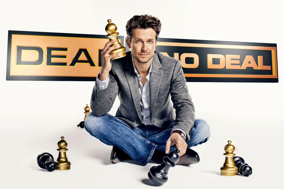 "Wayne Carpendale moderiert ""Deal or no Deal"" ... - Bildquelle: Thomas von Aagh SAT.1"