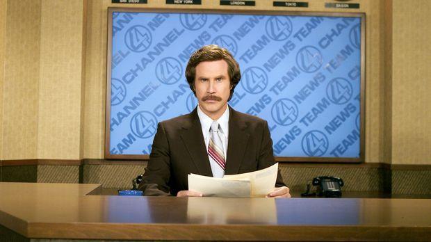 Im San Diego der 70er Jahre ist Ron Burgundy (Will Ferrell) der selbstverlieb...