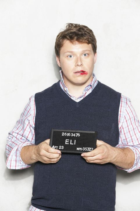 (2. Staffel) - Wohnt im Haus nebenan: Eli (Michael Blaiklock) ... - Bildquelle: 2012 American Broadcasting Companies. All rights reserved.