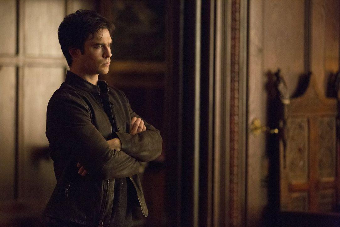 Damon (Ian Somerhalder) ist sich sicher, dass seine Rache an Dr. Wes schrecklich sein wird ... - Bildquelle: Warner Brothers