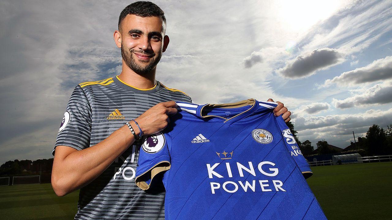 Rachid Ghezzal (Zugang Leicester City) - Bildquelle: twitter@LCFC