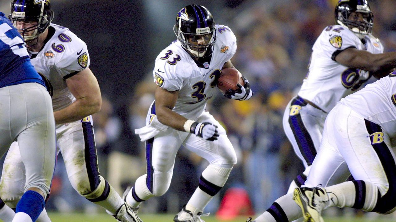 Super Bowl 2001: Baltimore Ravens (34:7 gegen die New York Giants) - Bildquelle: Imago