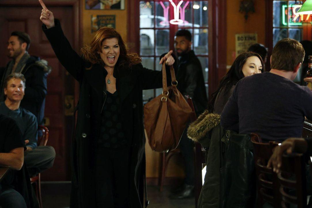 Muss einen neuen Mordfall aufklären: Laura (Debra Messing) ... - Bildquelle: Warner Bros. Entertainment, Inc.