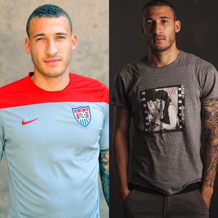 Heißester Spieler der WM: Fabian Johnson aus den USA - Bildquelle: AFP // Instagram/Fabian Johnson