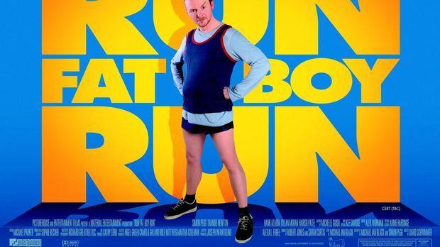 RUN, FATBOY, RUN - Plakatmotiv © 2008 Warner Brothers
