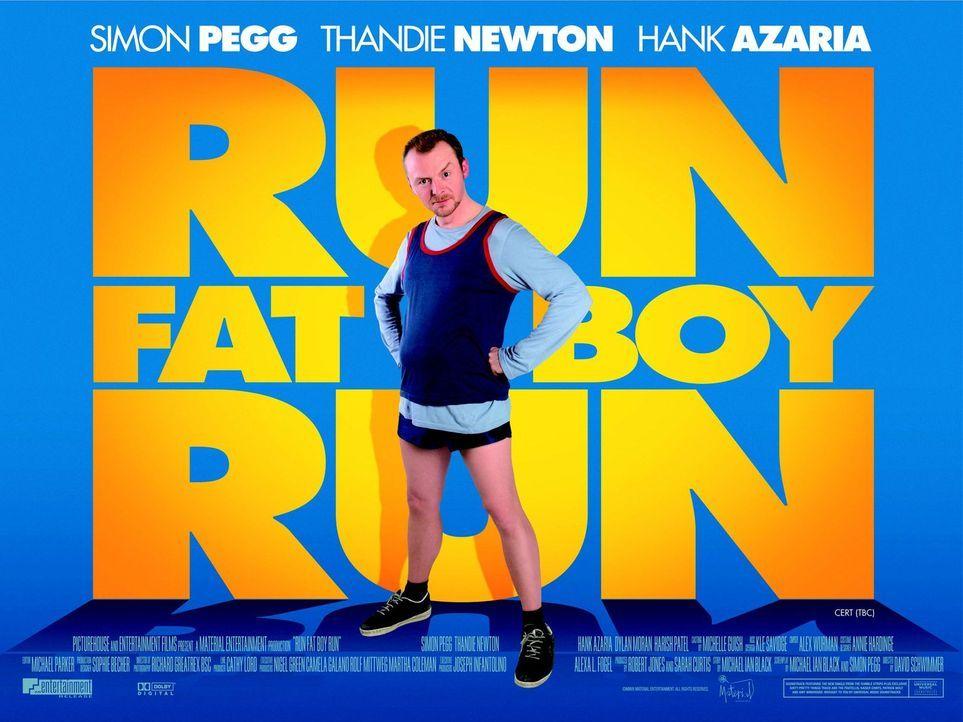 RUN, FATBOY, RUN - Plakatmotiv - Bildquelle: 2008 Warner Brothers