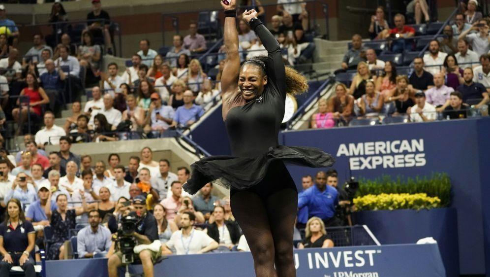 Williams jubelt nach ihrem Sieg im Viertelfinale - Bildquelle: AFPSIDEDUARDO MUNOZ ALVAREZ